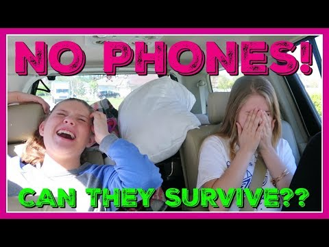 connectYoutube - NO PHONE CHALLENGE || WILL THEY SURVIVE WITHOUT THEIR PHONES? ||