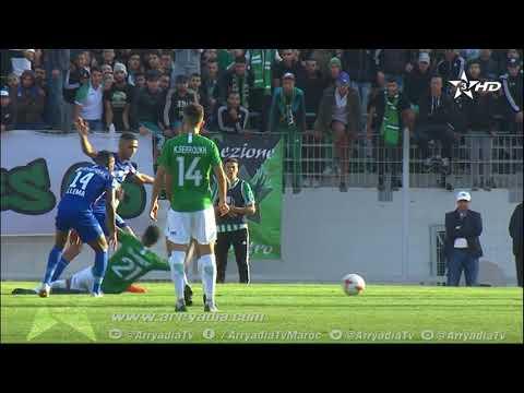 اولمبيك خريبكة 1-1 الرجاء البيضاوي هدف رضى هجهوج