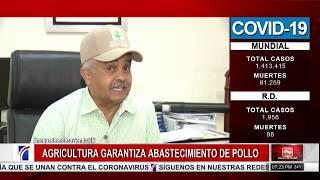 #NoticiasSIN: Agricultura garantiza producción de pollos