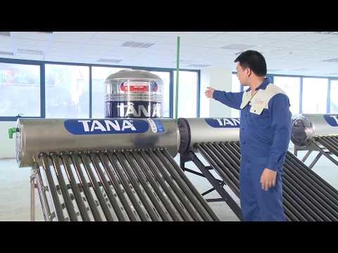 hướng dẫn lắp đặt máy nước nóng nước nóng năng lượng đại thành