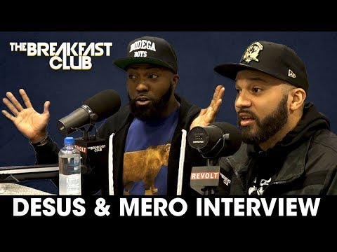 connectYoutube - Desus & Mero Pressed By DJ Envy In Heated Breakfast Club Interview