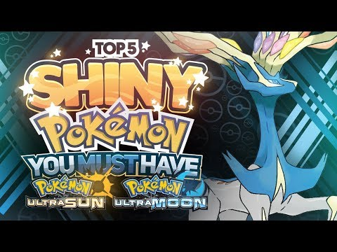 connectYoutube - Top 5 Shiny Legendary Pokemon You Must Have In Pokemon Ultra Sun And Ultra Moon