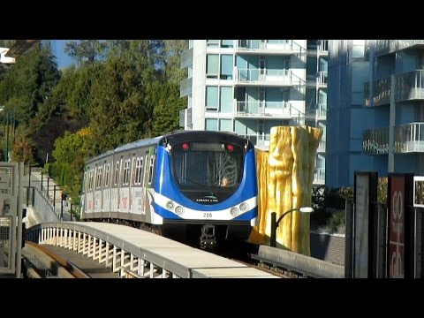 Metro Vancouver's Canada Line - Tour and Information