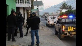 La policía realiza un total de 19 allanamiento en Jalapa