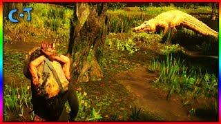 Feeding Murfree Brood To Legendary Bull Gator - Red Dead Redemption 2
