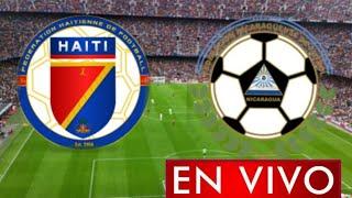 Donde ver Haití vs. Nicaragua en vivo, Primera Ronda, Eliminatorias Concacaf Qatar 2022
