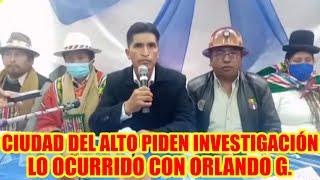 MAS-IPSP. DE LA CIUDAD DEL ALTO COLQUIRI ESTÁ DE DUELO..