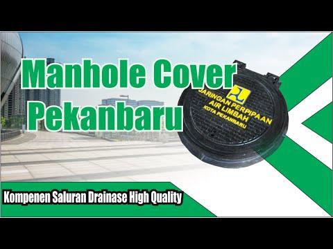 Manhole Cover Bulat Pekanbaru