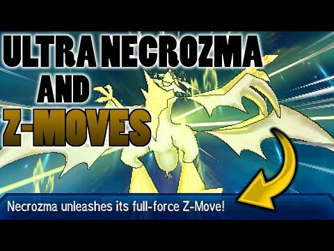 connectYoutube - Can Ultra Necrozma Use Z-Moves Other Than Light That Burns The Sky In Pokemon Ultra Sun and Moon?
