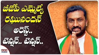 Dubbaka BJP MLA Raghunandan Rao Arrest || Mallanasagar Family Controversy || ABN Telugu - ABNTELUGUTV