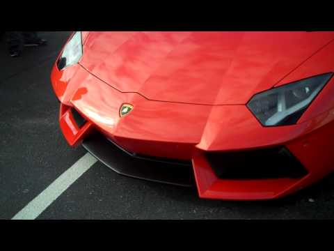 Lamborghini Aventador walk around video