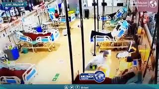 ممرضة كادت ان تنهي حياة مريض داخل المستشفى