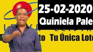 Resultados y Comentarios Quiniela Pale de Leidsa 25-02-2020 (CON JOSEPH TAVAREZ)