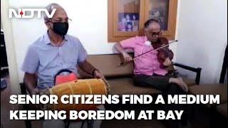Coimbatore Senior Citizens' Podcast Makes Waves - NDTV
