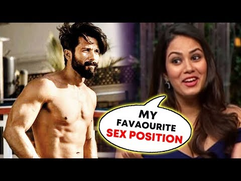 connectYoutube - OMG! Shahid Kapoor's Wife Mira Rajput OPENS UP On BED Time Secret