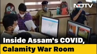 Inside Assam's Flood And COVID-19 War Room - NDTV