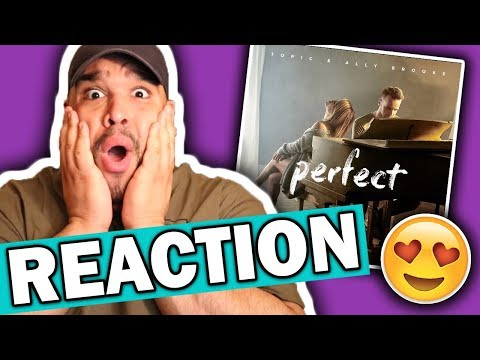 connectYoutube - Topic & Ally Brooke - Perfect [REACTION]