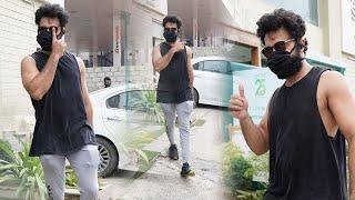 Actor Navdeep Exclusive Visuals @ Hyderabad Gym | Celebrities Gym Videos | TFPC - TFPC