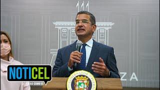 Pedro Pierluisi en su primera conferencia de prensa luego de reunión con gabinete