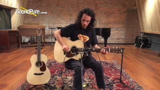 Bourgeois Acoustic Guitar Comparison: OMS Country Boy vs JOMT Vintage Quick n' Dirty