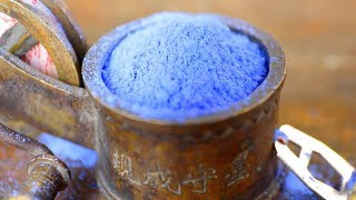 What Is This Mysterious Blue Powder?