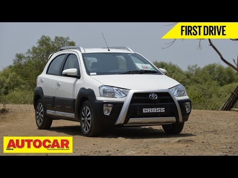 Toyota Etios Cross | First Drive Video Review