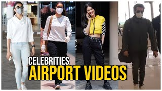Tollywood Celebrities Airport Videos | Celebrities Spotted @ Hyderabad | TFPC - TFPC