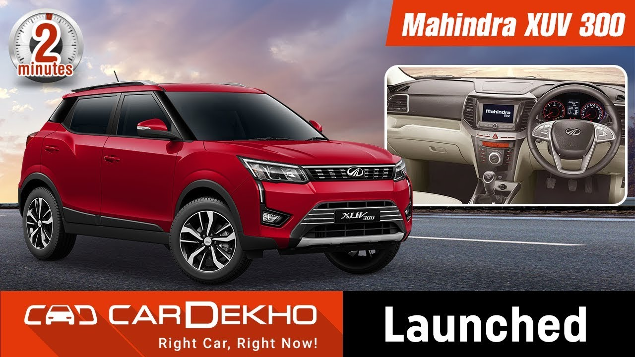 Mahindra XUV300 Launched; Price Starts At Rs 7.9 Lakh | #In2Mins