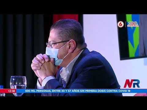 Cuestionan candidatura de Rodrigo Cháves por caso de acoso sexual