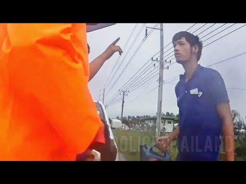 ตำรวจช่วยเหลือประชาชนน้ำมันหมด