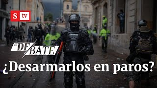 ¿Es acertado desarmar a la Policía para afrontar las marchas y los paros   El Debate