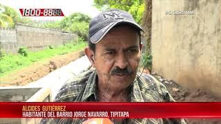 Alcaldía ejecuta adoquinado y alcantarillado en barrio de Tipitapa – Nicaragua