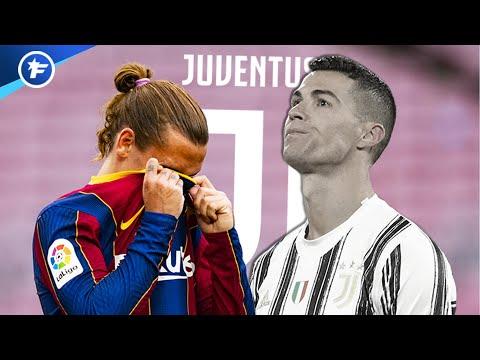 La Juventus est prête à remplacer Cristiano Ronaldo par Antoine Griezmann   Revue de presse