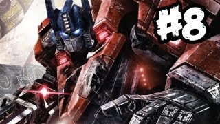 Transformers Fall of Cybertron - Gameplay Walkthrough - Part 8 - JAZZY JEFF!! (Xbox 360/PS3/PC)
