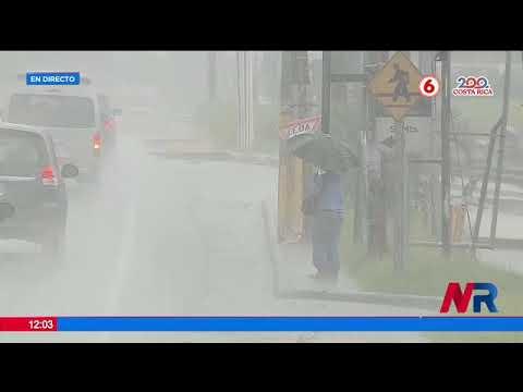CNE reportal al menos 89 eventos por las lluvias