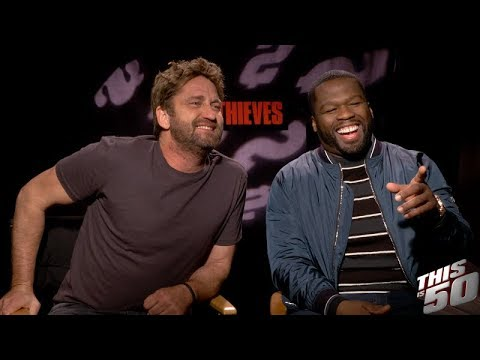 connectYoutube - 50 Cent, Gerard Butler & Cast of 'Den Of Thieves' Speak on Their Film   In Theaters Now!