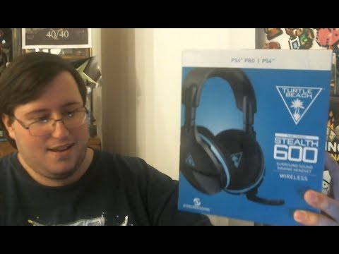 connectYoutube - Turtle Beach Stealth 600 Wireless Headset Unboxing