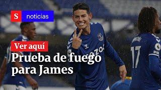 Everton vs. Liverpool: ¿llegó la prueba de fuego para James Rodríguez   Semana Noticias