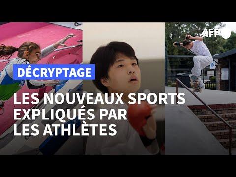 Tokyo 2020 : les athlètes décryptent les nouveaux sports | AFP