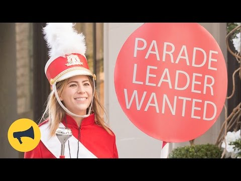 Random Parade Leader - Surprising People with a Holiday Parade