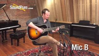 SDC Mic Shootout on Acoustic Guitar: M60 vs. 2011A vs. P84 vs. C42