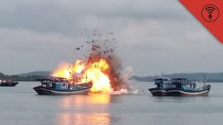 Indonesia: Blowin' Up Boats & CGI Pompeii | SYSK Internet Roundup