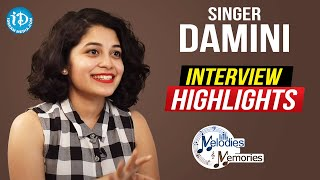 Singer Damini Bhatla Exclusive Interview Highlights   Melodies And Memories   iDream Telugu Movies - IDREAMMOVIES