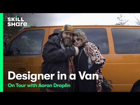 Designer in a Van: On Tour with Aaron Draplin   Trailer