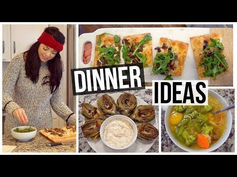 connectYoutube - 3 Healthy Dinner Ideas!