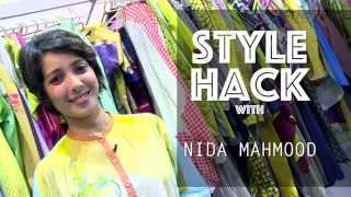 Style Hack with Nida Mahmood at AIFW SS 16 by Trendin