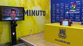 Rueda de prensa AD Alcorcón vs CD Lugo