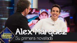 Marc Márquez hace una novatada a su hermano por su primera vez en 'El Hormiguero 3.0'