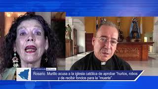 """Murillo acusa a la iglesia católica de aprobar """"hurtos, robos y de recibir fondos para la """"muerte"""""""