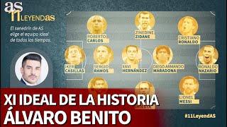 11 DE LEYENDAS I ÁLVARO BENITO escoge su ONCE histórico I Diario As